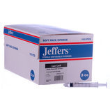 Jeffers Luer Lock Syringes, Boxes