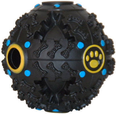 "Jeffers Giggling Dog Treat Ball, 4.5"" D"