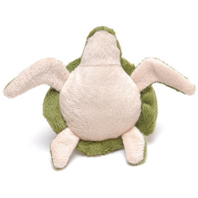 Jeffers Plush Turtle Squeaker Dog Toy Jeffers Pet