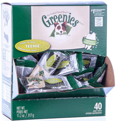 Teenie Greenies Mini Merchandiser, 40 count