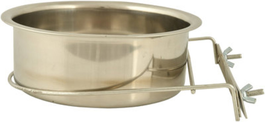 48 oz Stainless Bowl with Clamp