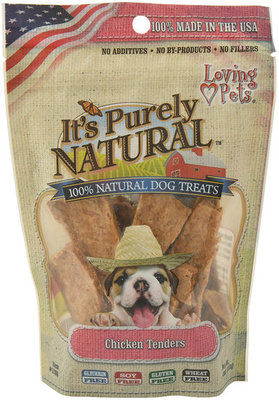 It's Purely Natural Chicken Tenders Dog Treats, 4 oz