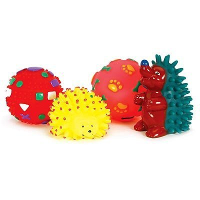 Squeaky Toys, 4 Pack