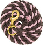 Colored Cotton Lead Ropes, 10' L