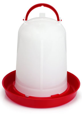 Economy Plastic Poultry Waterer, 5 Liter