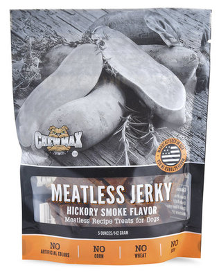 ChewMax Meatless Jerky, Hickory Smoke Flavor, 5 oz
