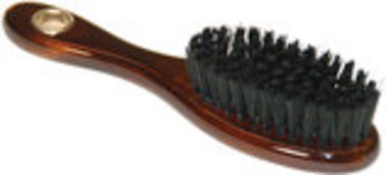 "Nylon Bristle Brush with Wood Handle, 6""L"