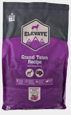 Elevate Grand Teton Recipe Dry Dog Food