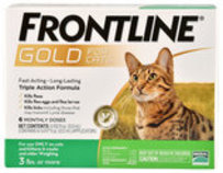 Frontline Gold for Cats, 6-pk
