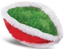 "6"" Plush Christmas Sports Ball Toy"