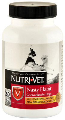 Nutri-Vet Nasty Habit Liver Flavored Chewables