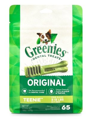 65 ct Greenies Mega Treat Pack, Teenie 18 oz