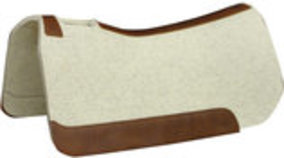 "5 Star 7/8"" Saddle Pad, Natural (32""x 32"")"