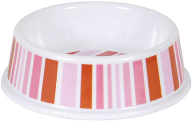 "7"" Melamine Pet Dish (Assorted Colors)"