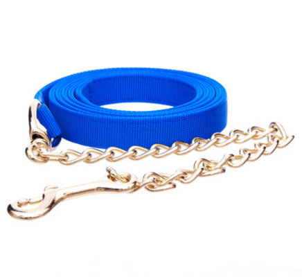 Jeffers Nylon Lead with Chain