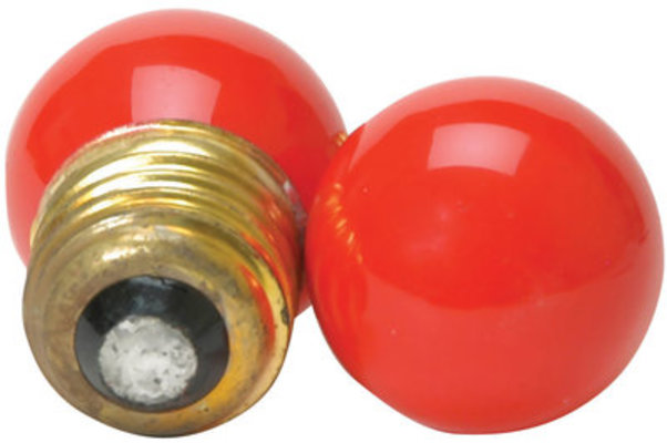 Red Brooder Attraction Light Bulbs, Set of 2