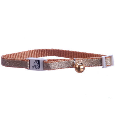 Jeffers Sparkle Nylon Adjustable Cat Collars (with bell)