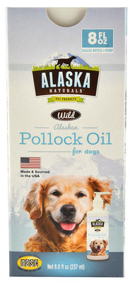 Alaska Naturals Wild Alaskan Pollock Oil for Dogs