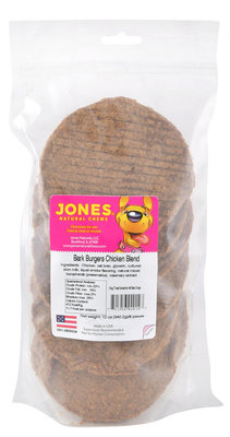 8-pack Bark Burgers, Chicken Blend