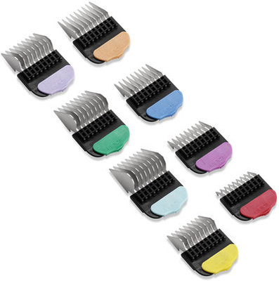 Andis 8-Piece Stainless Steel Comb Set