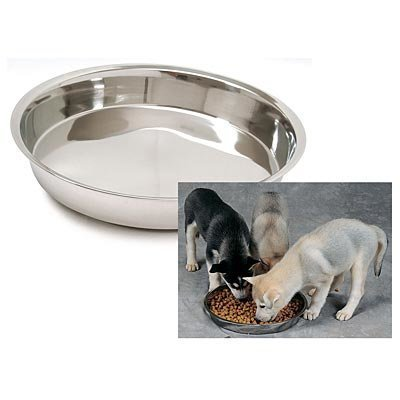 Jeffers Stainless Steel Puppy Pans