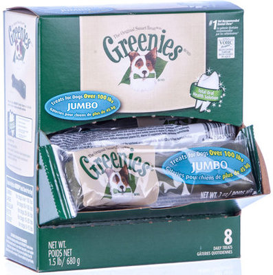 Jumbo Greenies Mini Merchandiser, 8 count