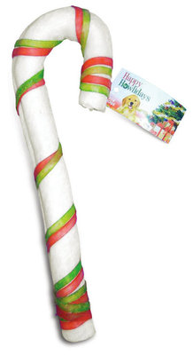 Rawhide Candy Cane, 9-10""