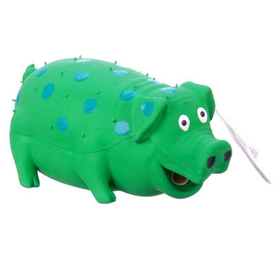 Globlets™ - Stuffed Latex Pig - Dog Toy
