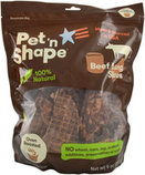 Pet 'n Shape Roasted Beef Lung Treats