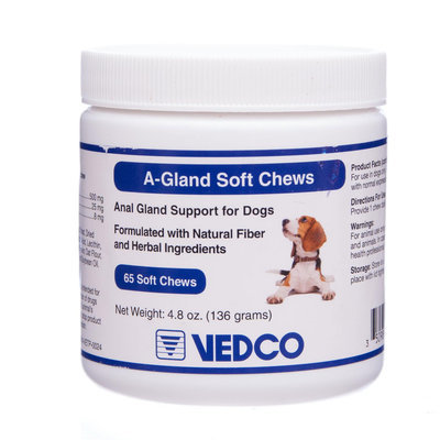 A-Gland Soft Chews for Dogs, 65 count