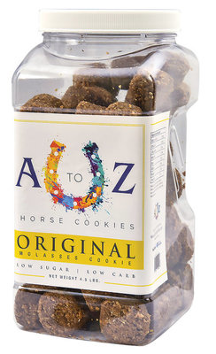 The Original A to Z Horse Cookies, 4.5 lb