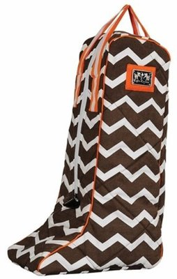 Abby Chevron Boot Bag