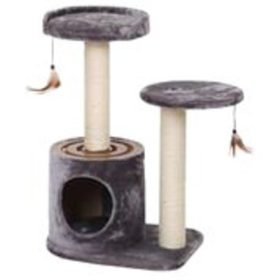Acceleration Cat Tree with Condo and Teaser