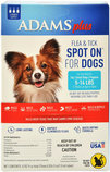 Adams Plus Flea & Tick Spot On for Dogs