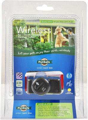 Wireless Pet Containment Receiver Collar