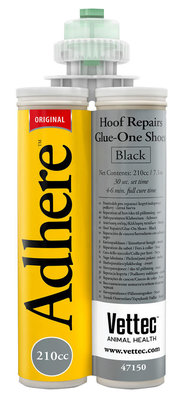 Adhere Glue-On-Shoe and Hoof Repair, 210 cc