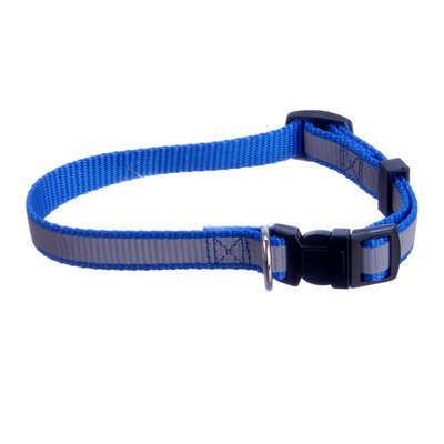 "Jeffers Reflective Stripe 5/8"" Adjustable (10""-16""L) Collar"