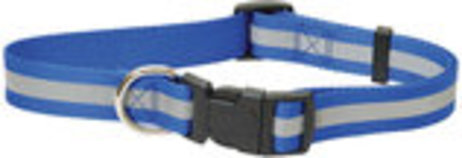 "Jeffers Reflective 3/4""W Adjustable (14""-22""L) Collar"