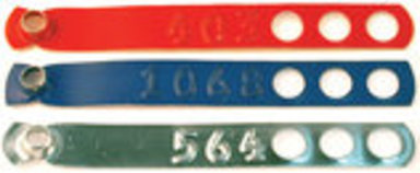 Adjustable Leg Bands, pkg of 100 (Numbered)