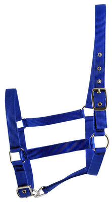 Jeffers Adjustable Nylon Halter, Full Size