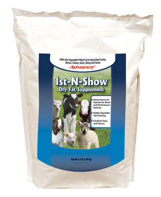 Advance 1st-N-Show Dry Fat Supplement, 4.5 lb