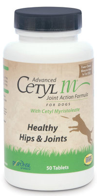 Advanced Cetyl M for Dogs, 50 tabs