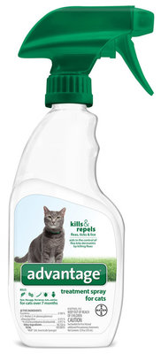 Advantage Treatment Spray for Cats, 12 oz