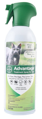 Advantage Treatment Spray for Cats, 8 oz