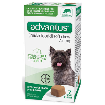 Advantus Soft Chews for Dogs 4-22 lb