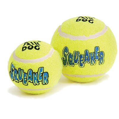 Air KONG&#174 Squeaker Tennis Balls