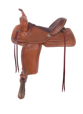 Alamo Saddlery Flex Trail Saddle