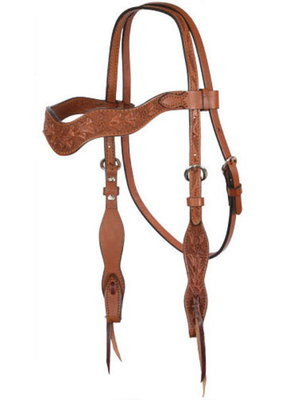 Alamo Saddlery Tooled Wave Tack