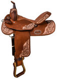 "Alamo Saddlery ""Vintage Vibes"" Barrel Saddle"