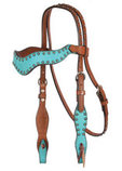 Alamo Saddlery Wave Horse Tack Collection, Caramel